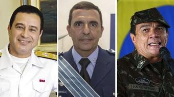 IMAGEM: Saiba quem são os novos comandantes das Forças Armadas escolhidos por Bolsonaro
