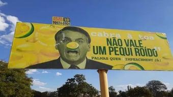 IMAGEM: Bolsonaro e o pequi roído da intimidação judicial