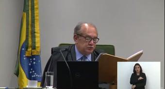 IMAGEM: Gilmar diz que Bretas não tinha competência para supervisionar E$quema S