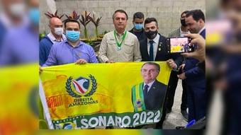 IMAGEM: Bolsonaro 'sem motor'