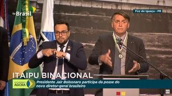 IMAGEM: Bolsonaro critica 'foco' da imprensa 'apenas na vacina'