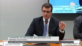 IMAGEM: Alinhado a Salles, Carlos França diz que créditos de carbono tornariam Fundo Amazônia desnecessário