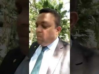IMAGEM: Deputado chama ministros do STF de 'vagabundos' e 'filhos de satanás' e fala em 'derramamento de sangue'