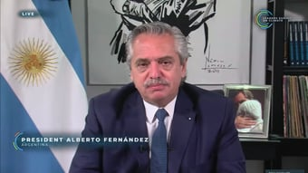 IMAGEM: EUA veem Fernández como líder regional para o clima