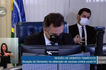 IMAGEM: Eduardo Bolsonaro atua para manter Filipe Martins no cargo