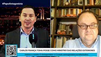 IMAGEM: Carlos França acena à Cúpula do Clima, diz embaixador Mario Vilalva