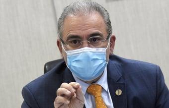 IMAGEM: Queiroga ataca imprensa que 'não contribui com o Brasil'