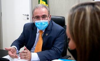 IMAGEM: Queiroga diz que Ministério da Saúde não teme CPI