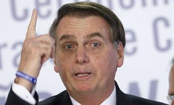 """IMAGEM: """"Se não tiver voto impresso, é sinal de que não vai ter eleição"""", diz Bolsonaro"""