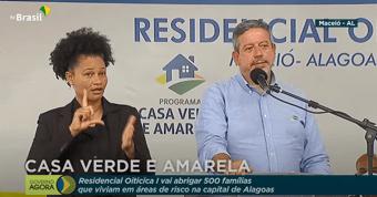 """IMAGEM: Para Lira, é """"bobagem"""" dizer que Bolsonaro """"troca verbas por votos"""""""