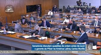 IMAGEM: Sem garantia do depoimento de Pazuello, CPI foca em 2 linhas de investigação