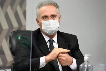 IMAGEM: Renan Calheiros ameniza tom na CPI