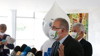 IMAGEM: Queiroga diz que 100 milhões de doses extras da Pfizer chegam até dezembro