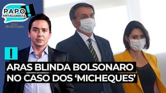 IMAGEM: Aras blinda Bolsonaro no caso dos 'micheques'