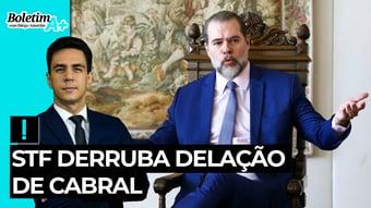 IMAGEM: Boletim A+: STF derruba delação de Cabral