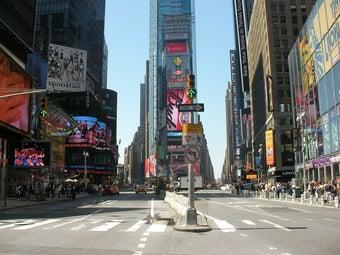 IMAGEM: Prefeito de Nova York diz que estado liberou vacinação para turistas