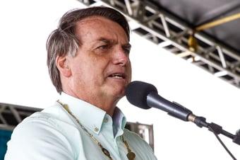 IMAGEM: 'Bia Kicis é a mãe do voto impresso, e Lira, o pai', diz Bolsonaro