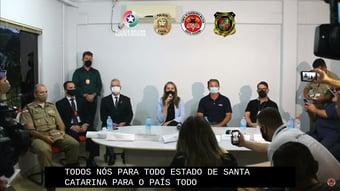 IMAGEM: O Brasil todo está consternado com a chacina em Saudades, diz governadora interina de SC