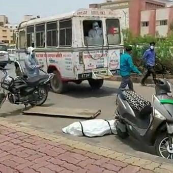 IMAGEM: Índia registra novo recorde diário de mortes por Covid