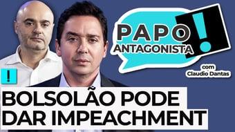 IMAGEM: AO VIVO: BOLSOLÃO PODE DAR IMPEACHMENT – Papo Antagonista com Claudio Dantas e Mario Sabino