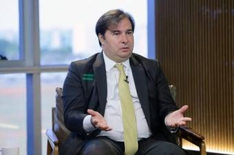 IMAGEM: Rodrigo Maia pede para sair do DEM