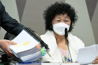 IMAGEM: Senador pede quebra de sigilos de Nise Yamaguchi e Elcio Franco