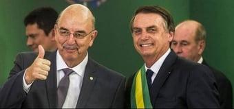 """IMAGEM: Bolsonaro reuniu-se 27 vezes com """"Ministério da Saúde paralelo"""""""