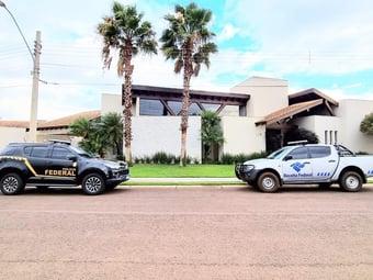 IMAGEM: PF mira conselheiros do Tribunal de Contas do Mato Grosso do Sul