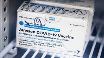 IMAGEM: SP quer distribuir vacina da Janssen para todas as cidades do estado