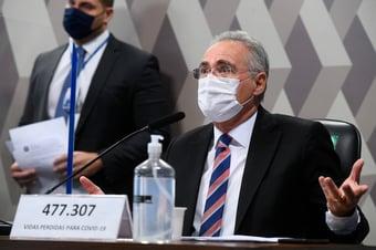 IMAGEM: Renan se reúne com secretário especial da Receita Federal para discutir quebra de sigilos