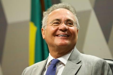 Bolsonaro escala Sarney para conter Renan