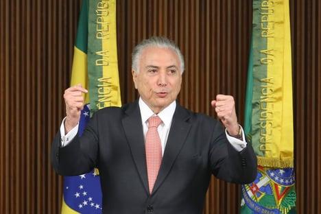 Moraes retira de Bretas ação contra Temer