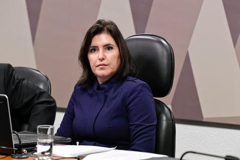 """""""Burrice aguda ao quadrado"""", diz Tebet, sobre lista do Planalto para a CPI"""