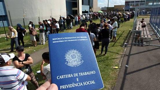 Brasil deve ter 14ª maior taxa de desemprego do mundo, segundo ranking