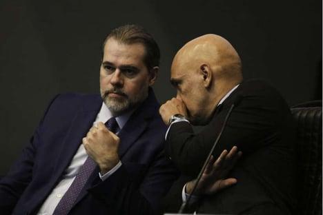 O encontro de Doria com Toffoli e Moraes