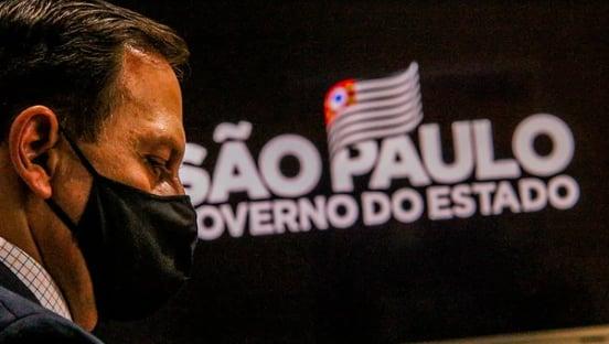 Urgente: Doria determina recuo para fase amarela em São Paulo