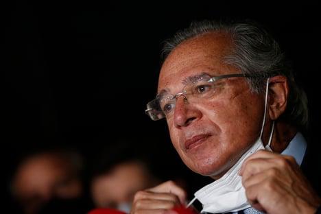 """""""Minha vontade era mandar dinheiro para estados"""", diz Guedes, sobre gastos com pandemia"""
