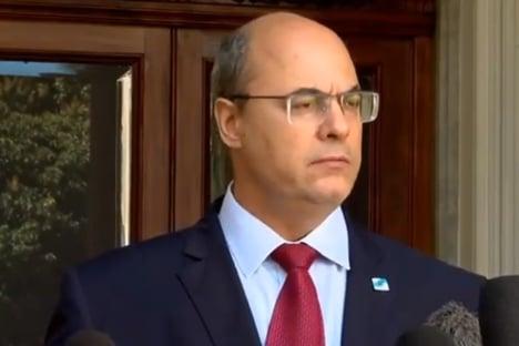 Moraes suspende interrogatório de Witzel no tribunal do impeachment