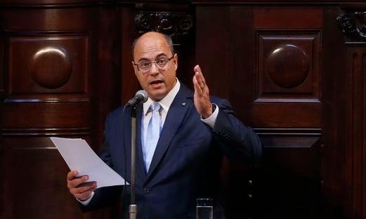 Fachin mantém Witzel afastado do governo do Rio