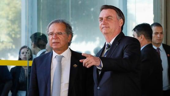 """""""No Orçamento, o pau come"""", afirma Paulo Guedes a investidores"""