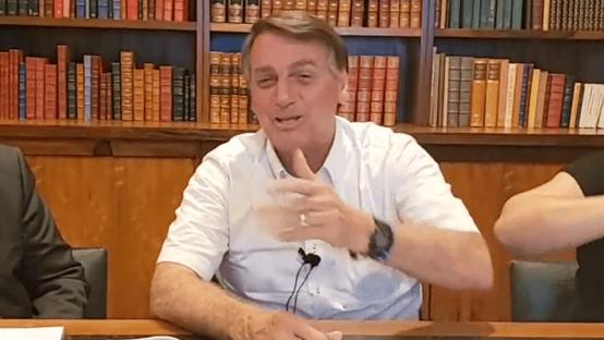 """""""Já tomou muita tubaína comigo"""", diz Bolsonaro sobre Kassio Marques"""