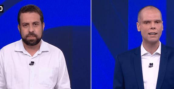 Covas e Boulos aceitam debate virtual e solicitam autorização da Globo