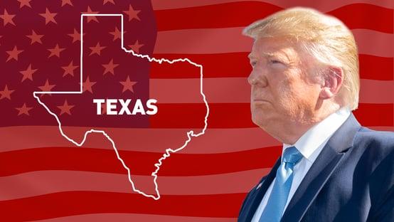 Trump vence no Texas