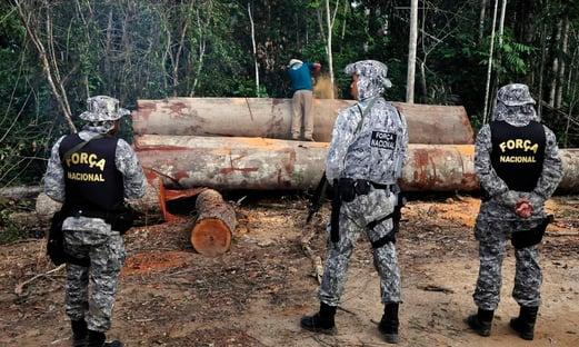 Força Nacional se junta à Operação Verde Brasil 2