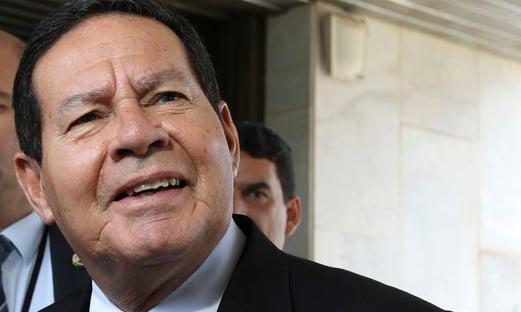 Mourão substitui Bolsonaro no Fórum Econômico Mundial