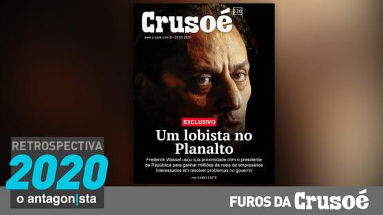 Furos da Crusoé: um lobista no Planalto