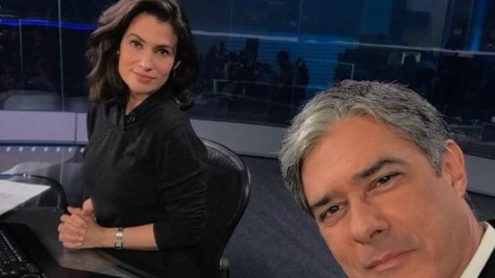 Inquérito sobre William Bonner e Renata Vasconcellos é extinto