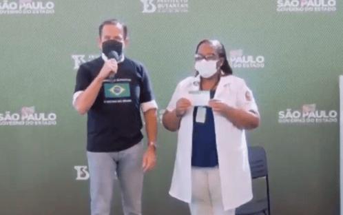 7 x 1 de Doria sobre Bolsonaro
