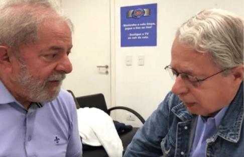 O padre do Lula voltou