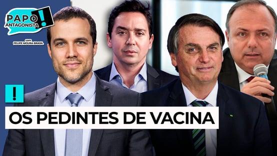 AO VIVO: EM BUSCA DAS VACINAS PERDIDAS – Papo Antagonista com Felipe Moura Brasil e Claudio Dantas